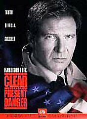 Clear and Present Danger (DVD, 1998) Harrison Ford