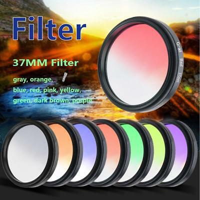 37MM Circular Photochromic Glasses Filter Chameleon Phones SLR Camera Lens