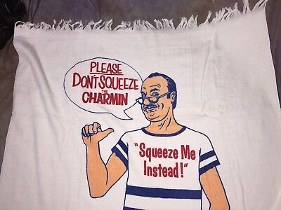 """SBJ VTG NOS In plastic Charmin and Mr. Wipple Beach Towel 36"""" X 58"""""""