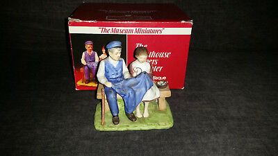 Norman Rockwell 1986 Museum Collection The Lighthouse Keepers Daughter With Box