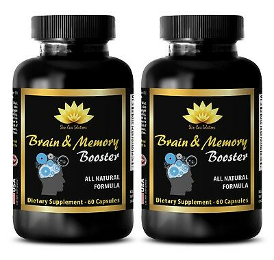 Cognition focus - BRAIN & MEMORY BOOSTER - 2B - Neuroprotection and brain repair
