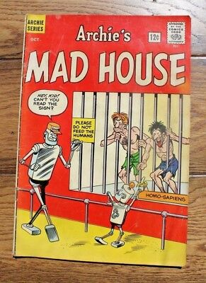 Archie's MAD HOUSE # 22 FIRST APPEARANCE OF SABRINA THE WITCH 1962