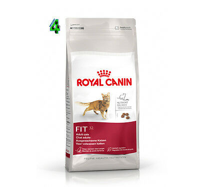 ROYAL CANIN FIT 32 10 kg Alimento Crocchette Per Gatti Gatto Adulto Hairball