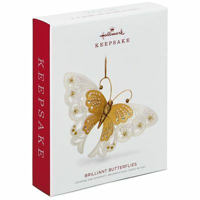 Hallmark 2018 Brilliant Butterflies Christmas Ornament 2Nd In Series Nib