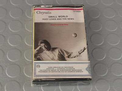 Huey Lewis and The News - Small World (Chrysalis, 1988, MC,) Sealed