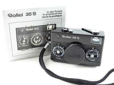 Rollei 35 S 35S 35Mm Film Camera With Nice Sonnar 40Mm F2.8 Hft Lens