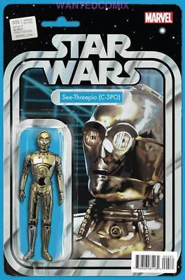 Star Wars #5 C-3Po Christopher Action Figure Variant Cover Marvel Comic Book New