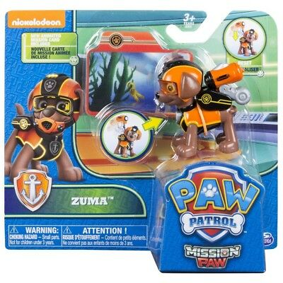 PAW Patrol Mission PAW Action Pack Pup Zuma Figure Childrens Collectable Toy