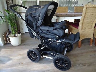 Emmaljunga Black Denim Kinderwagen ** SUPER **