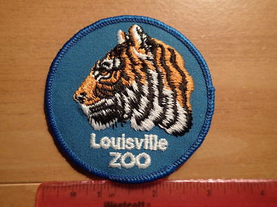 Vintage Patch-EMBROIDERED-Kentucky-LOUISVILLE ZOO ZOOLOGICAL GARDENS