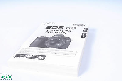 Canon EOS 6D (WG,N) Instructions