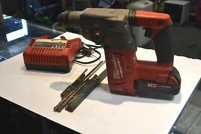 "Milwaukee 2712-20 M18 fuel 1"" SDS Plus Rotary Hammer Drill"