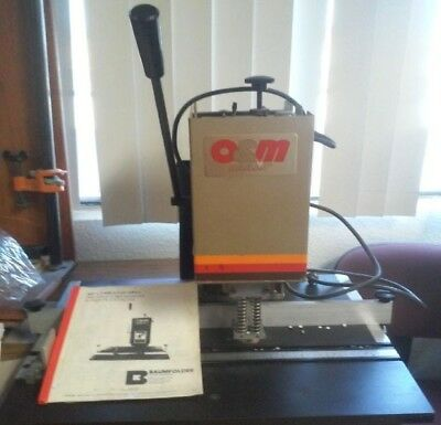 Paper Drill O&M Table Top Paper Puncher