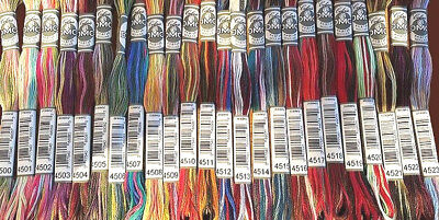 DMC COLORIS #4500-4523 PICK YOUR COLORS! Embroidery Floss 1 Skein