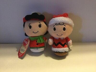 Hallmark  itty bittys, Christmas Charlie Brown And Lucy, New