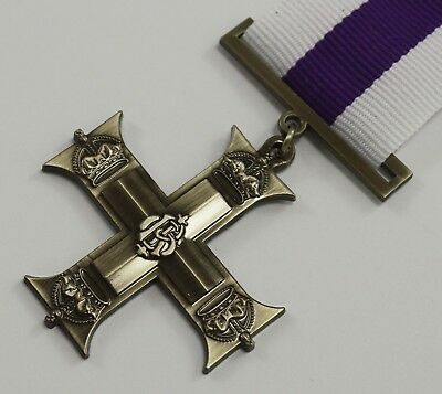 Superb Full Size Replica WW1 George V Cross for Gallantry Medal with Ribbon