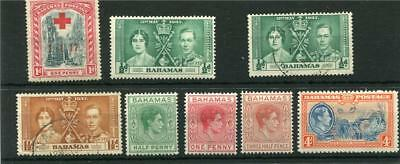 Bahamas.8 -- G6 Mm/used Stamps On Stockcard