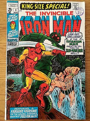 Iron Man King Size Special #1