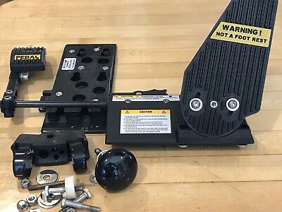 MPS Motion Mobility Left Foot Accelerator Gas Pedal Handicap Device Driving Aid