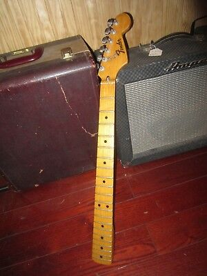 Vintage 1973 Fender Stratocaster Guitar Neck Re-cut and Shaped like '57 Awesome