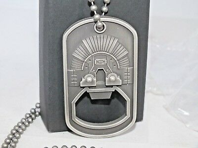 New OAKLEY Authentic Metal Icon Dog Tag Bottle Opener Necklace 101-130-001