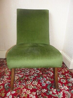 Pair of Green nursing chairs, for nursery, child's room, hallway, living room