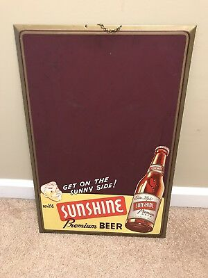 Sunshine Beer Chalkboard