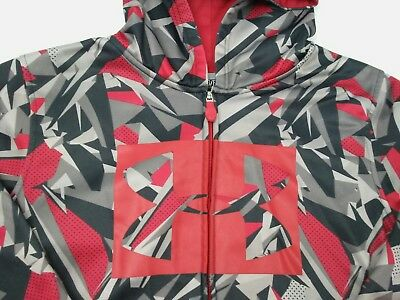 Under Armour Youth Boys XL Storm Loose Full Zip Hoodie Jacket FLAW READ (B3)