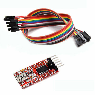 FT232RL FTDI USB 3.3V 5.5V to TTL Serial Adapter Module for Arduino Ports G2K9