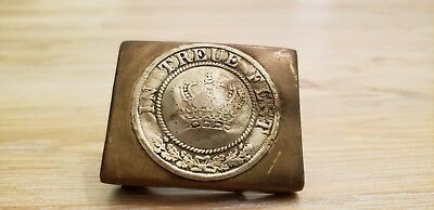 Wwi Imperial German Bavarian Army Belt Buckle-Original-Scarce