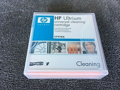 Genuine HP Ultrium Universal Cleaning Cartridge C7978A includes postage