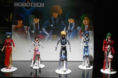 SDCC 2018 Toynami Robotech Poseable Action Figures 5 Pack Exclusive LTD 500