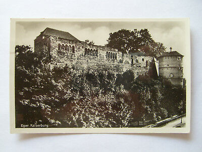 AK 1939 Eger - Kaiserburg - Originalfotos