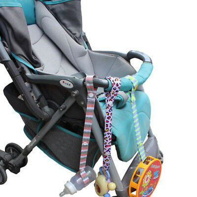 Cotton+Plastic Baby Stroller Toys Anti-Lost Strap Kids Rope Accessories 6A