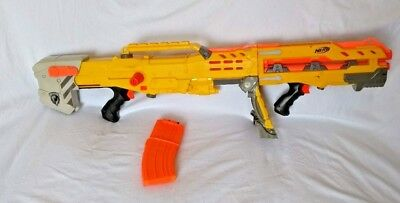 Nerf N-Strike CS-35 Longshot Sniper Rifle, Blaster, Gun, Extension & Magazine