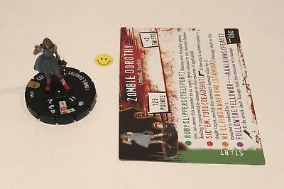Horrorclix Nightmares Zombie Dorothy #060 with Card NEW from Booster Pack