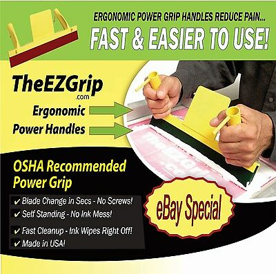 Screen Printing Squeegee Silk Screen Printing Ezgrip Ergo Squeegee Ergonomic