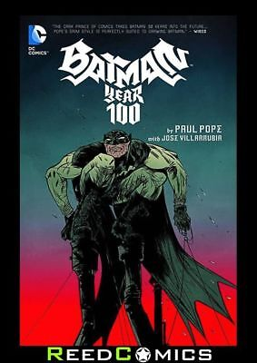 BATMAN YEAR 100 GRAPHIC NOVEL New Paperback Collects 4 Part Series + more