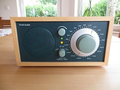 "Tivoli Audio Model One, ""Jagd Grün - Ahorn"", edles Mono Radio"