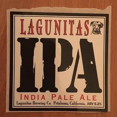 LAGUNITAS BREWING IPA Craft Beer STICKER
