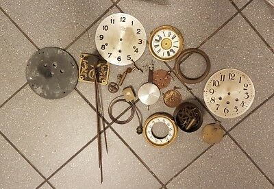 Antique Clock Parts for the restorer