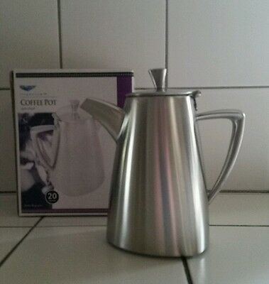 Vollrath Triennium 20oz Coffee / Tea Pot 46301 Stainless Commercial Stylish cafe
