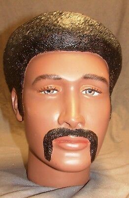 One of a kind male 70's head vintage life size sculpting prop and prototype.