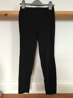 Ronhill Girls Tracksuit Bottoms Jogging Trousers Black Reflective Age 9-10