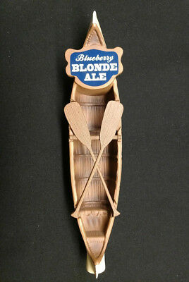 New Saranac Blueberry Blonde Ale Tap Handle Beer Free Shipping Utica Canoe