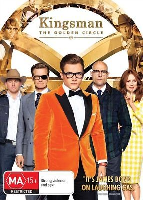 KINGSMAN 2 - The Golden Circle (DVD, 2018) : Region 4 New & Sealed