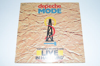 Laserdisc Depeche Mode - The World We Live In And Live in Hamburg 1985 ! Top!