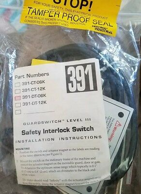 A1 INTERLOGIX SENTROL 2707A-L NON-CONTACT MAGNETIC SAFETY SWITCHES