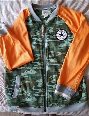 BOYS CONVERSE JACKET  AGE 13-15 YRS Used but in immaculate condition