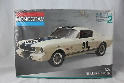 Monogram 1965 Shelby Gt 350r Ford Mustang Muscle Car Model Kit 2969